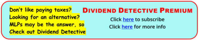 Don't like paying taxes? Looking for an alternative? MLPs may be the answer, check out Dividend Detective.